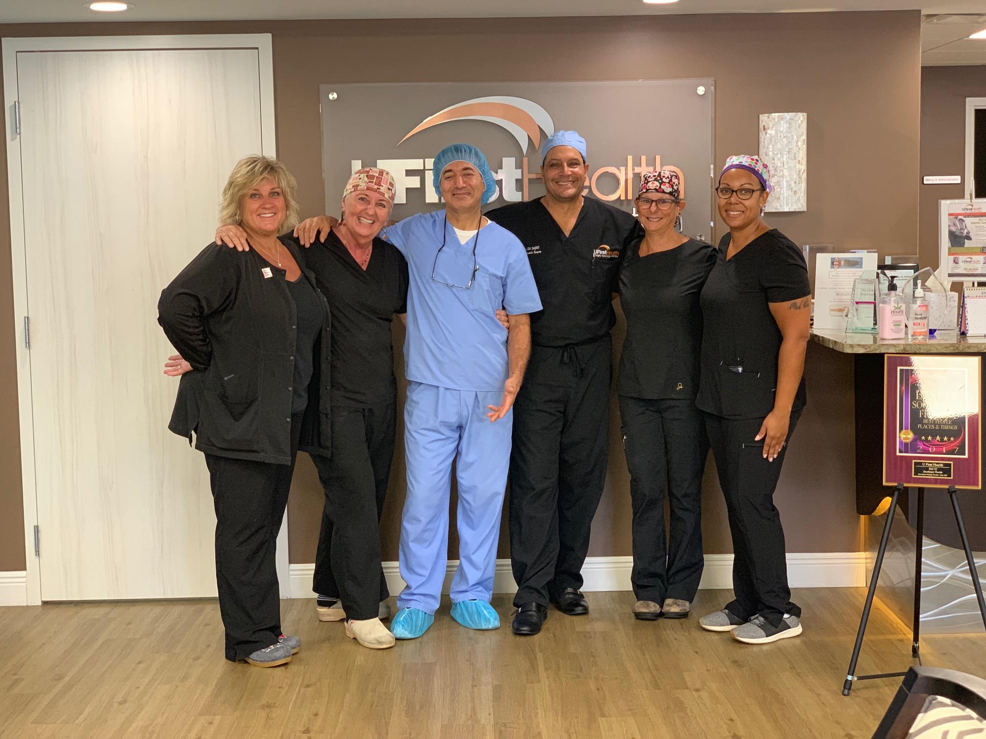 U First Hernia Surgery team
